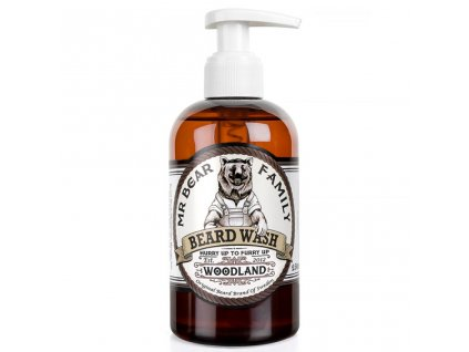 Mr. Bear Family Woodland šampon na vousy 250 ml