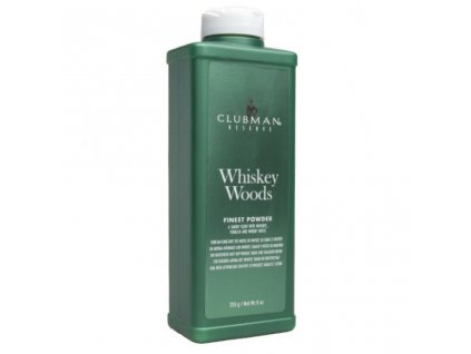 Clubman Whiskey Woods ultra jemný pudr 255 ml