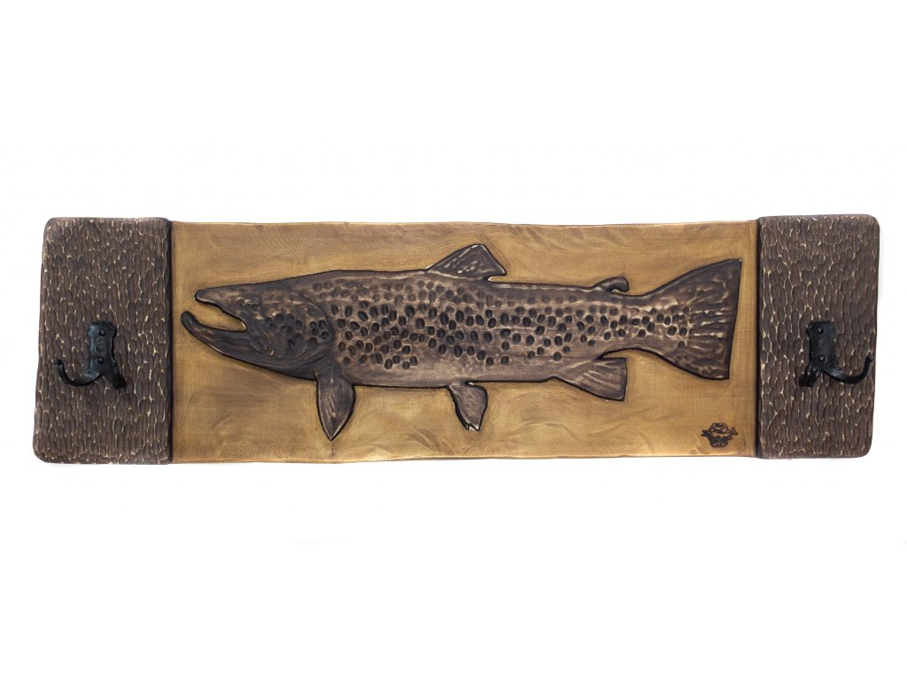 Brown Trout 115 cm with Hooks