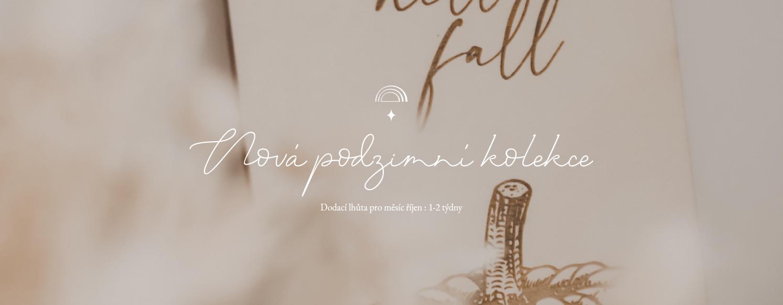 Hello fall - podzimní kolekce Woodness