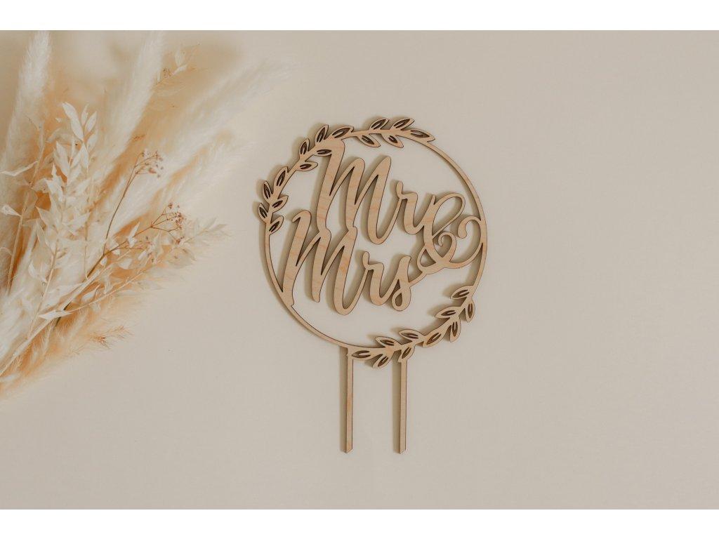 Svatební zápich - Mr&Mrs