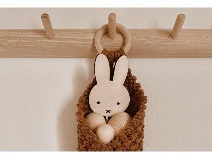 Dřevěný zápich - Bunny