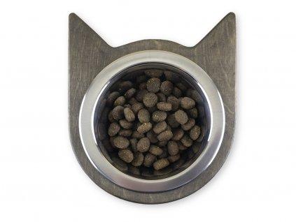 cat head bowl wenge 01w