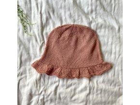 Hedvábný letní klobouček 4-8r