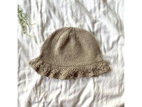 Hedvábný letní klobouček 2-4r