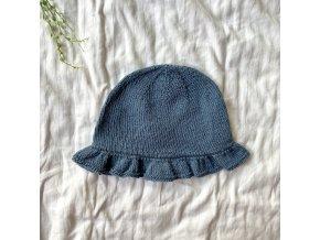 Hedvábný letní klobouček 1r