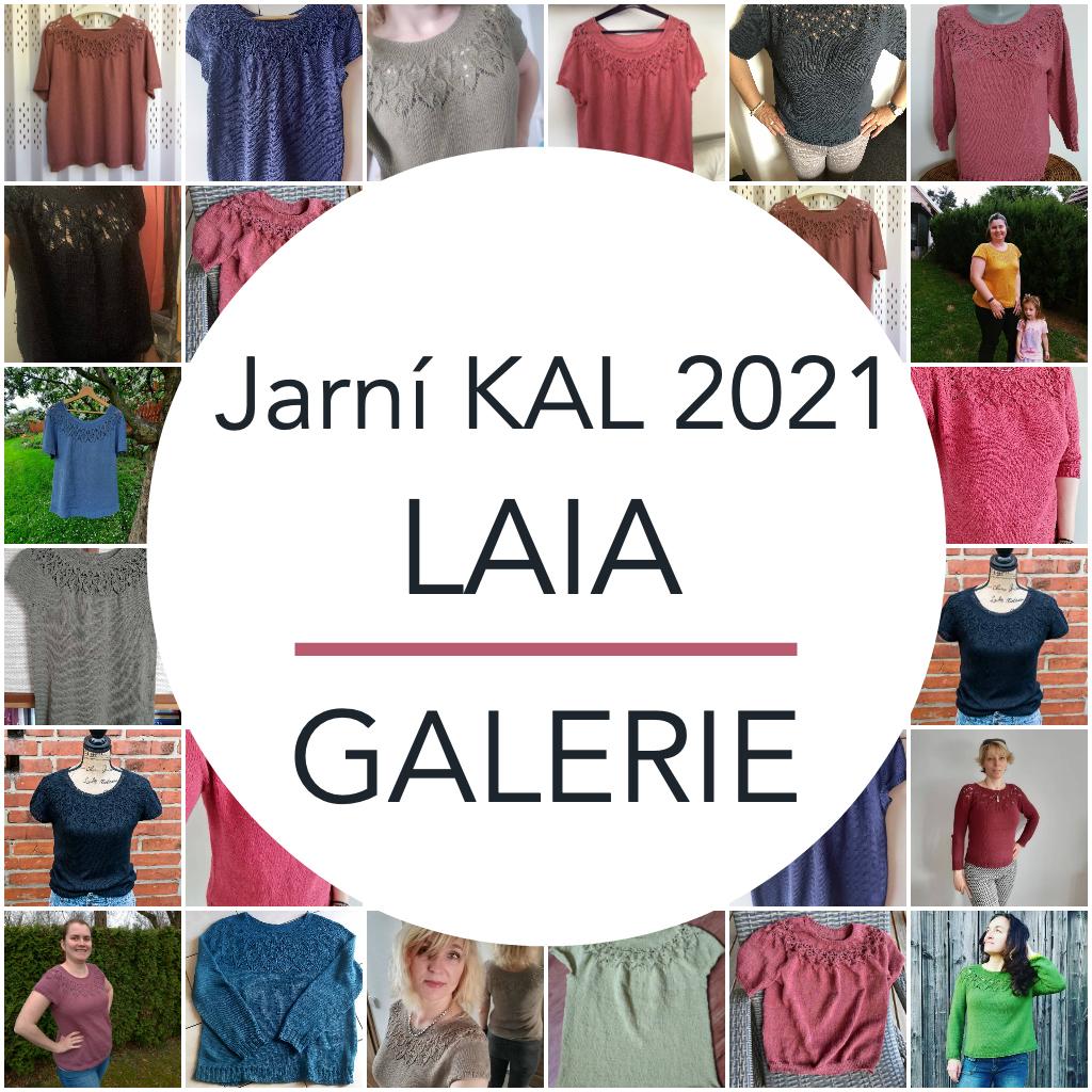 Jarní KAL 2021 LAIA - GALERIE