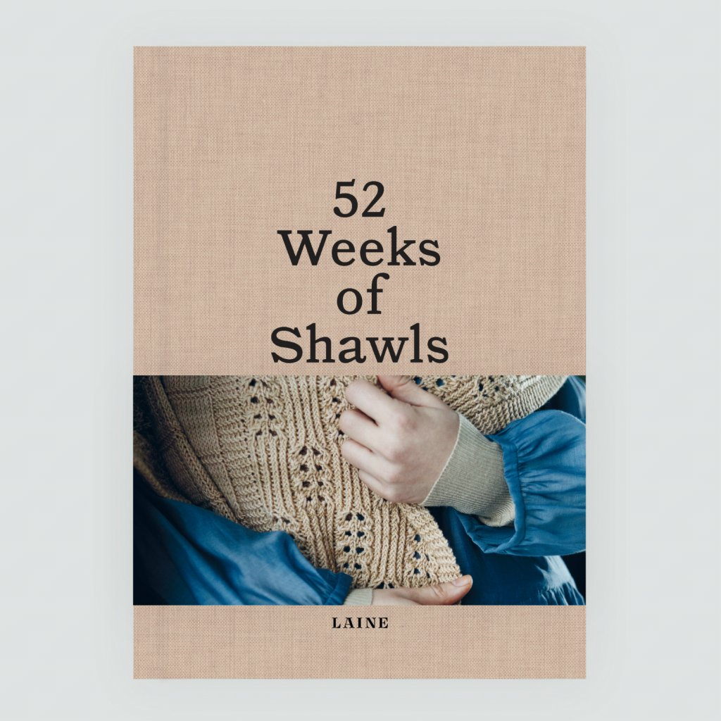 Laine 52Weeks of Shawls Cover