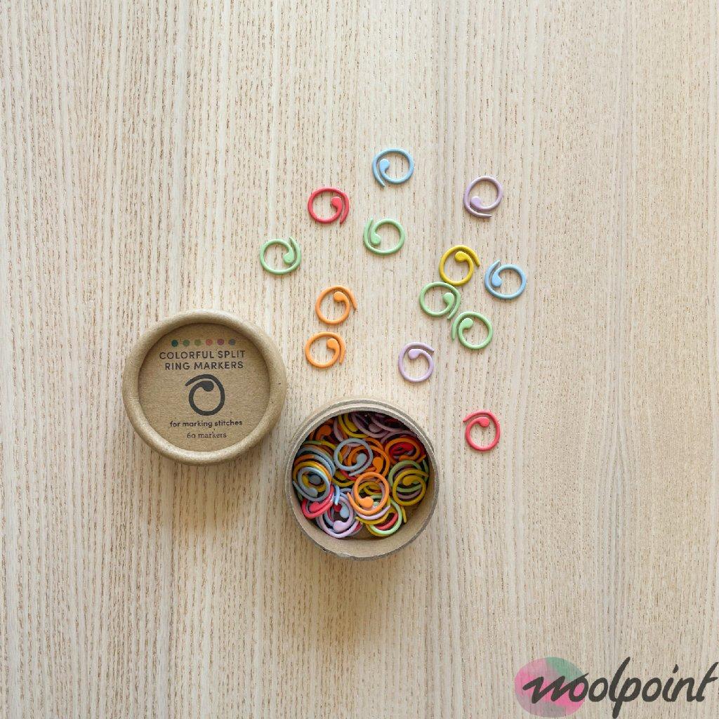 Značkovače Cocoknits Split barevné