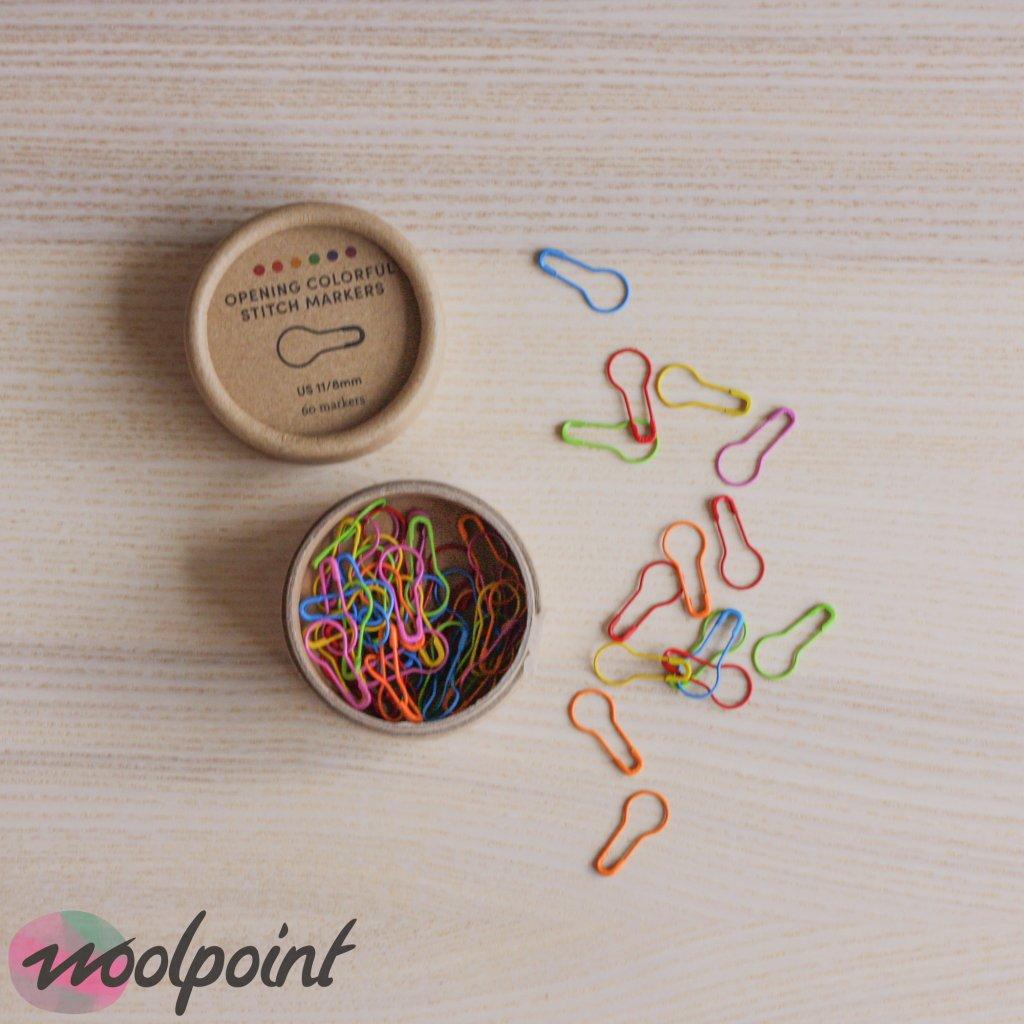 Zamykací značkovače Cocoknits barevné