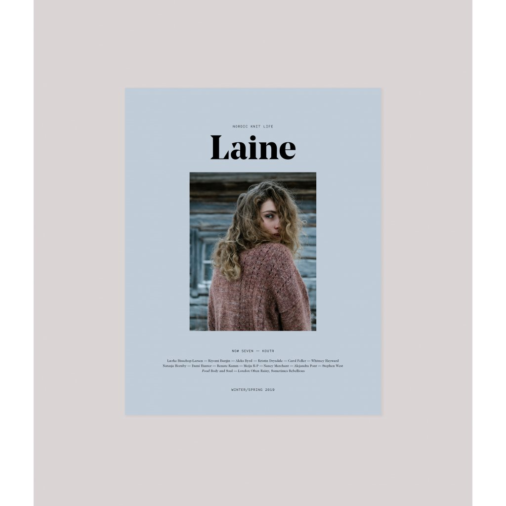 laine issue 7 cover mockup