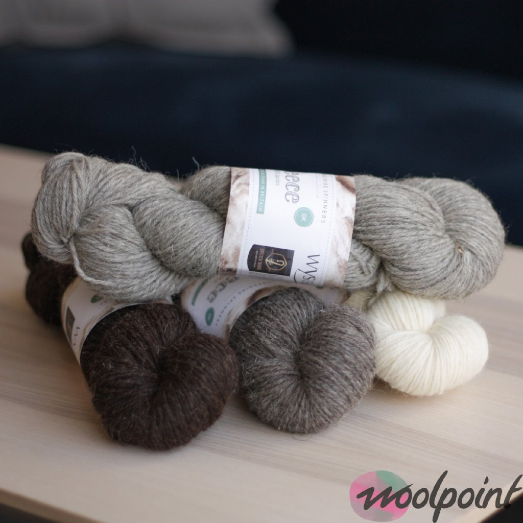 100% Jacobs yarn – DK Thickness