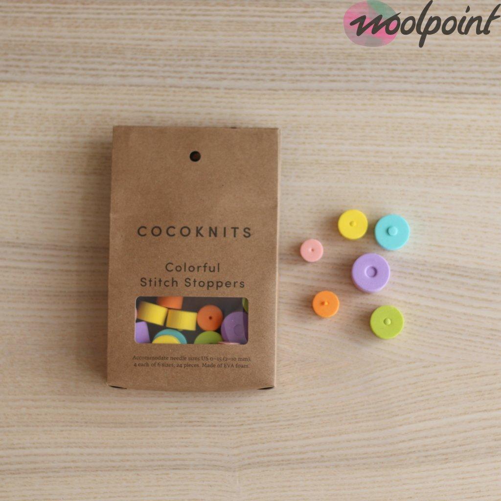 Zarážky na jehlice Cocoknits