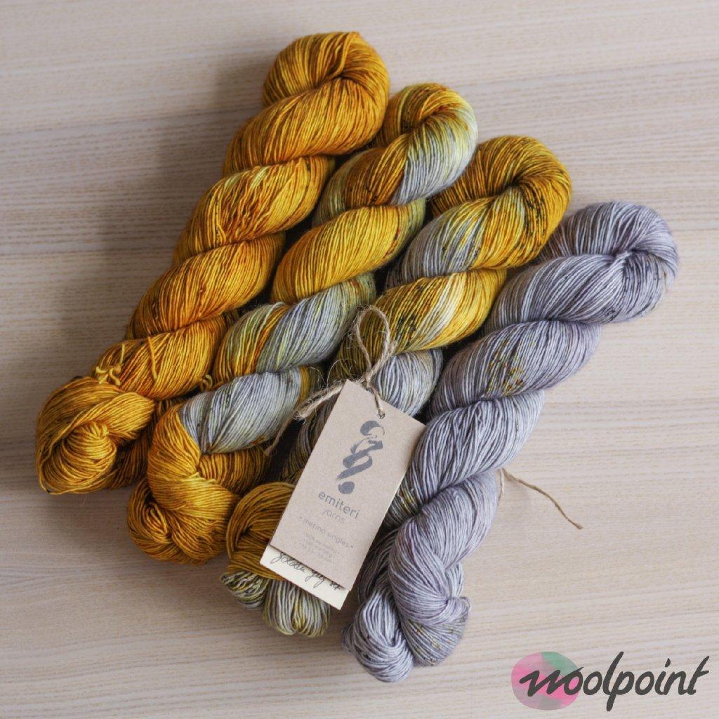 Merino singles Golden Grey Set