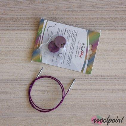 Výměnné lanko fialové