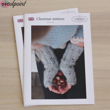 Chestnut mittens