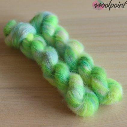 Neon Snowdrop Kid Silk Limited Yeah!Dye for Zufibres