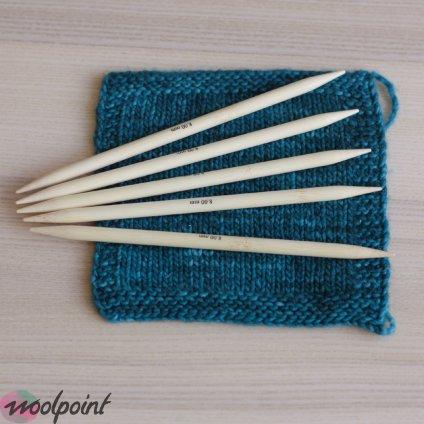 Ponožkové jehlice Bamboo 20cm