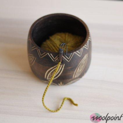 Miska na vlnu Leafy Knit Pro