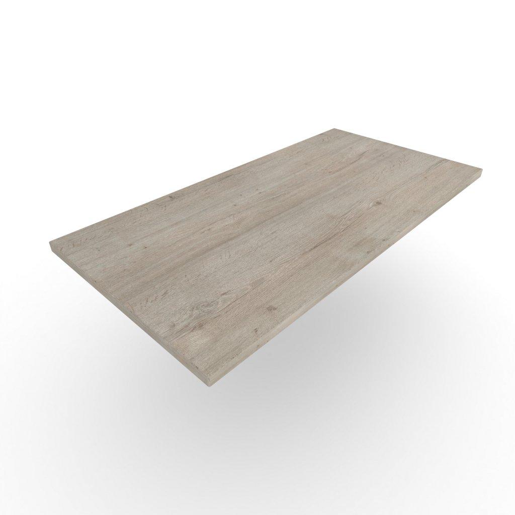 stolova deska dub Halifax lazurovany piskove sedy H1336 ST37 Wooders Czechia Woooooo
