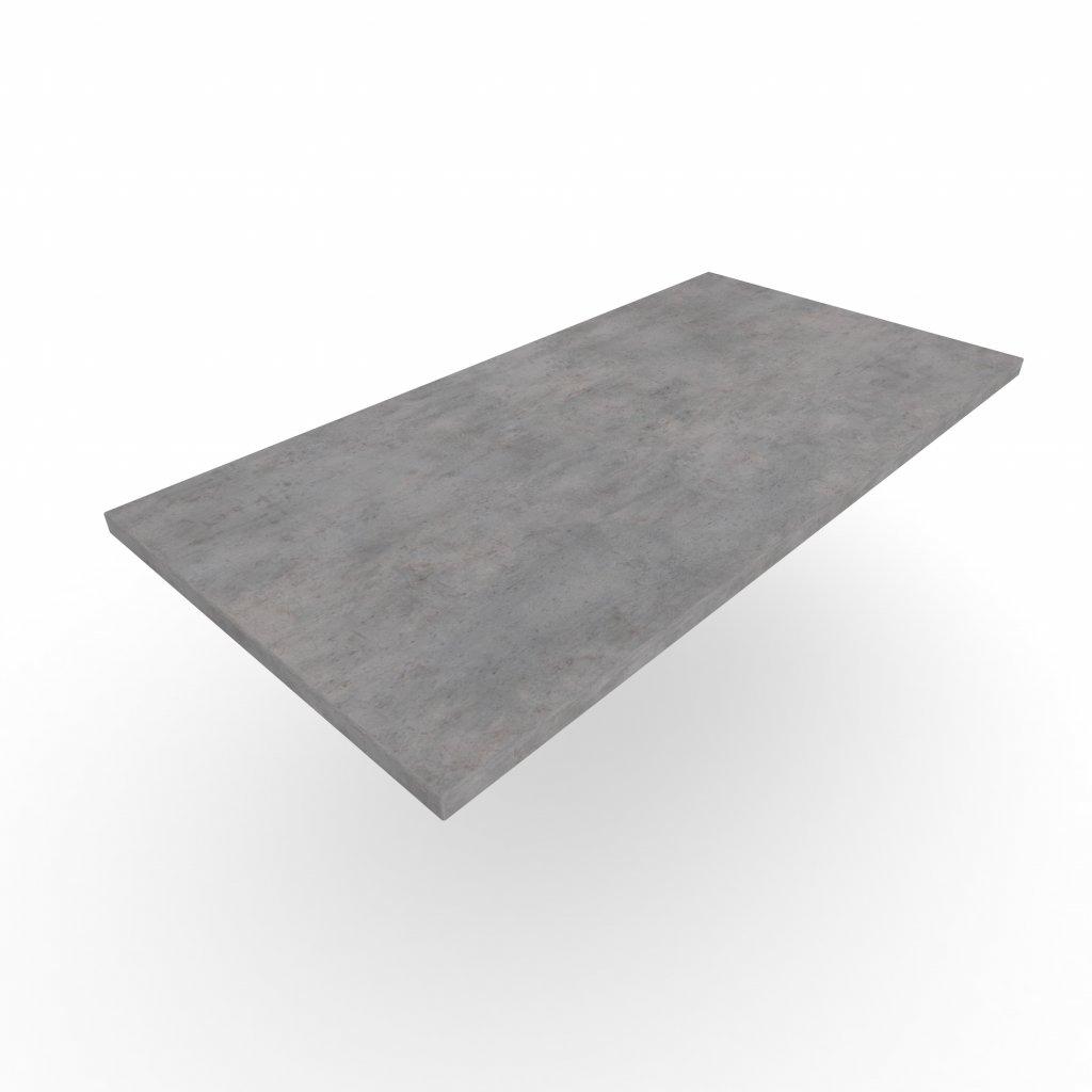 Wooders Czechia stolova desky beton chicago svetle sedy