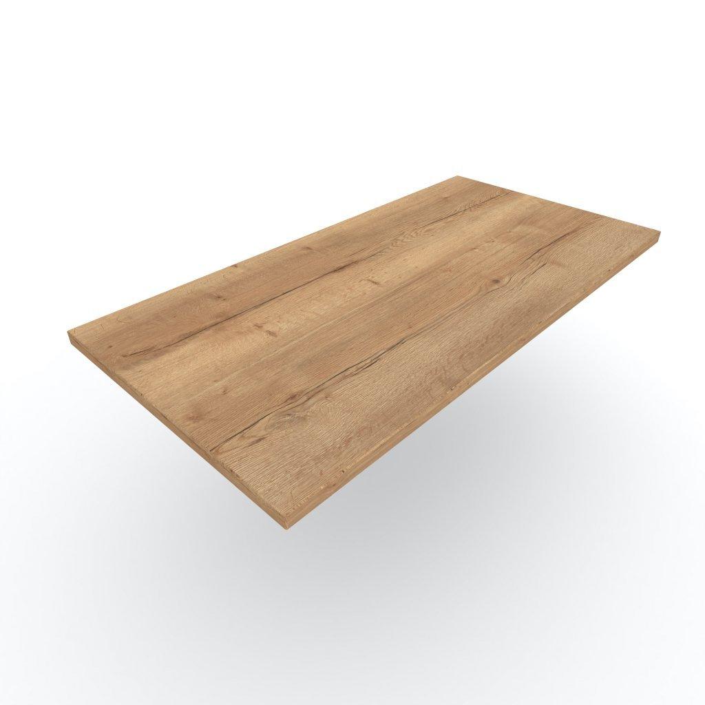 OUTLET stolová deska Halifax přírodní 800 × 800 × 18 mm