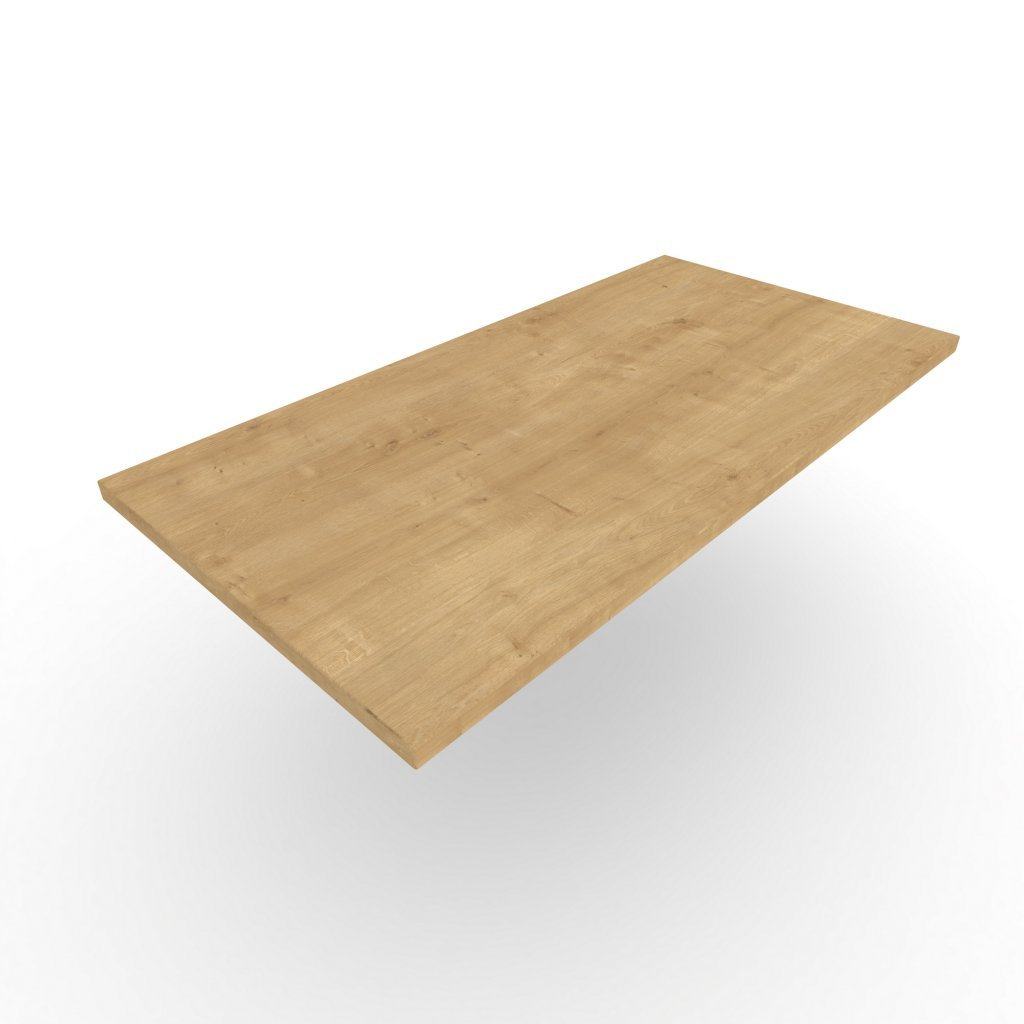 OUTLET stolová deska Hamilton přírodní 800 × 800 × 18 mm