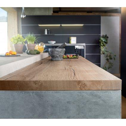 Wooders Czechia pracovni kuchynska deska halifax prirodni