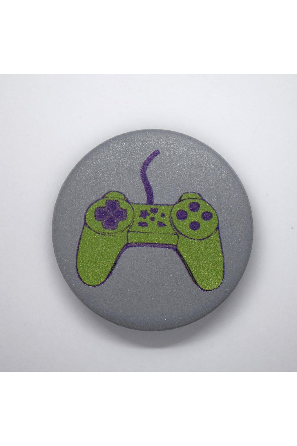 playstation zelený