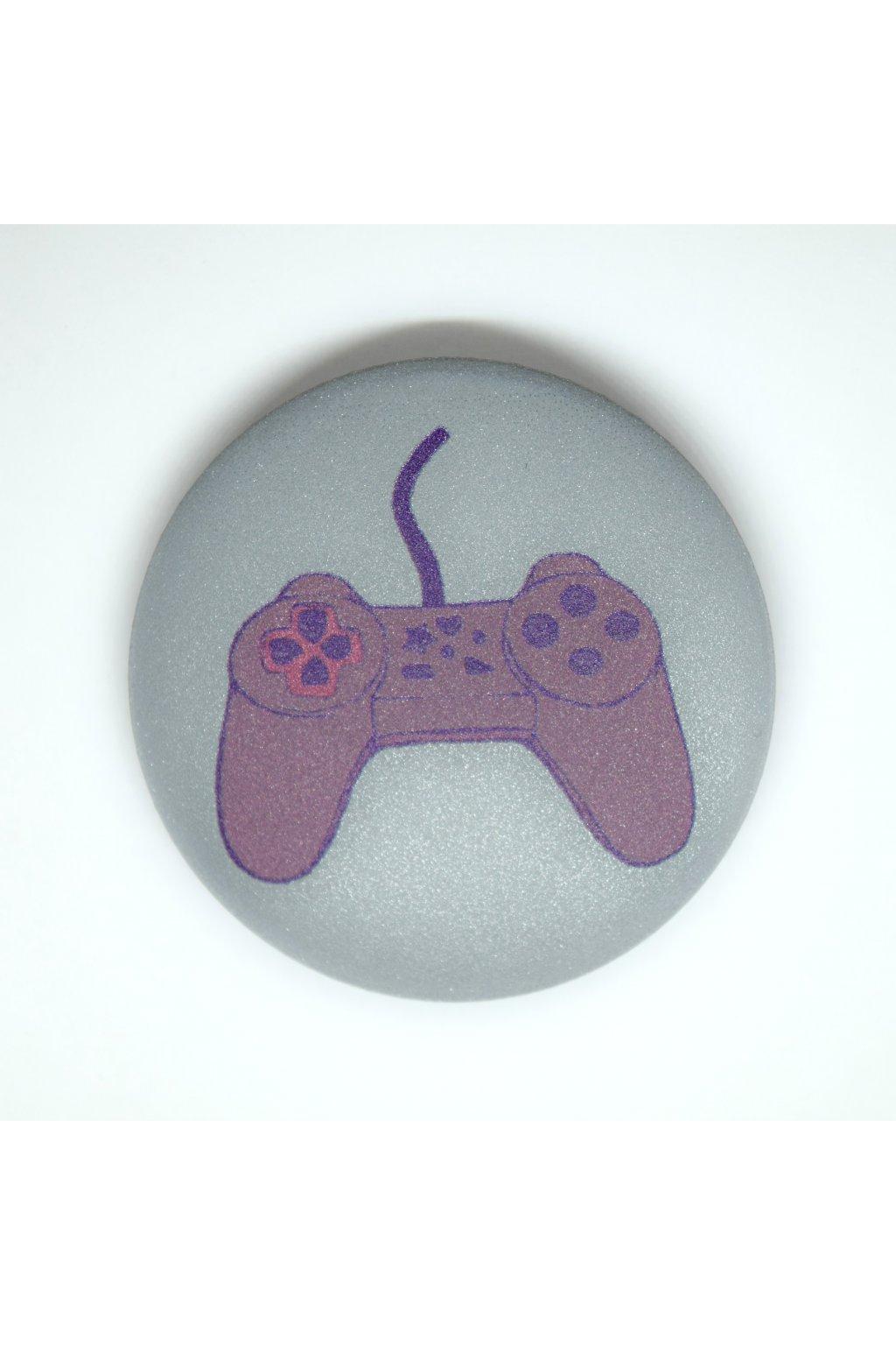 Reflexní placka PLAYSTATION pink