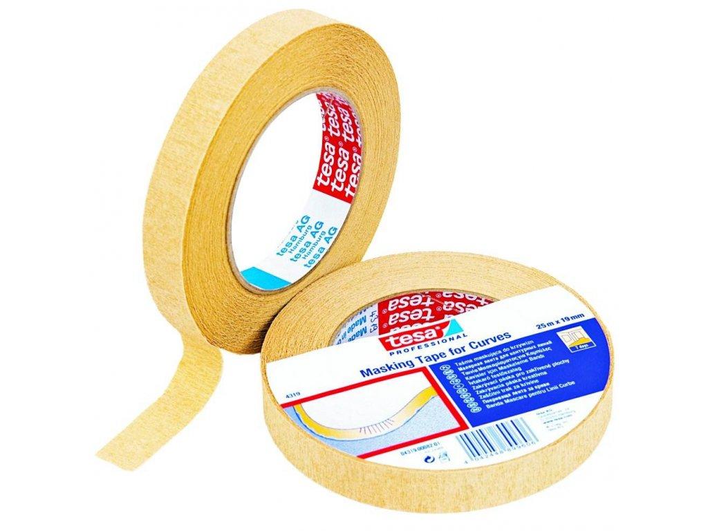 TESA páska 04319 maskovací na záhyby