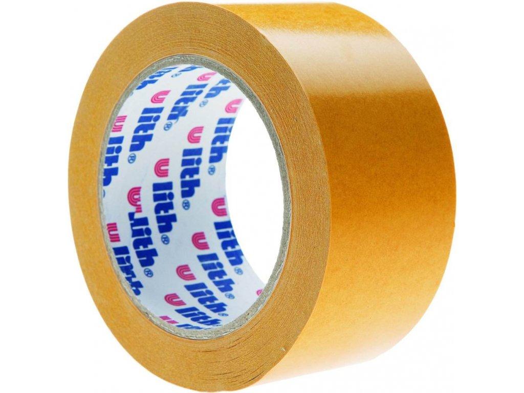 Kobercová páska oboustranná s PP nosičem