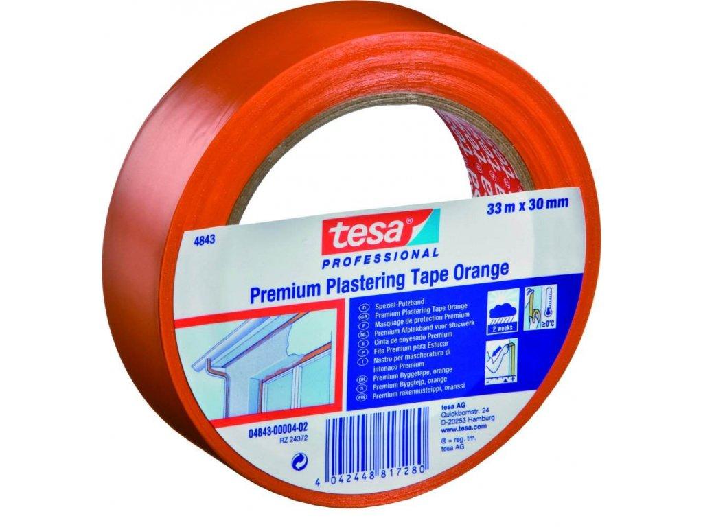 TESA páska 04843 50mmx33m oranžová