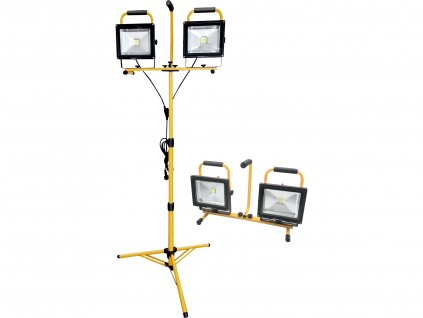 reflektor LED, 2x2400lm, se stojanem 168cm  43283