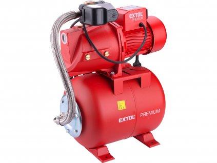 čerpadlo proudové s tlakovou nádobou, 750W, 5270l/hod, 3bar  8895095