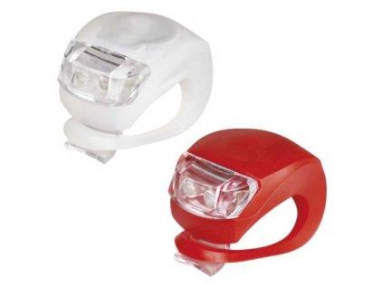 LED přední + zadní svítilna na kolo P3921 na 2× CR2032,10 lm  P3921