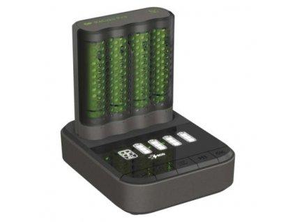 Nabíječka baterií GP Pro P461 + 4× AA ReCyko 2700 + DOCK  B54467D