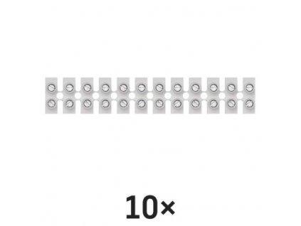 Svorkovnice 12x10,0 mm bílá  A4003