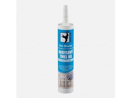 Akrylový tmel na sádrokartony bílý 310ml