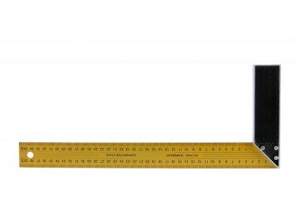 Úhelník 400mm žlutý  14440