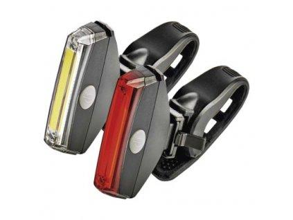 LED přední + zadní svítilna na kolo P3922 na 2× CR2032,22 lm  P3922