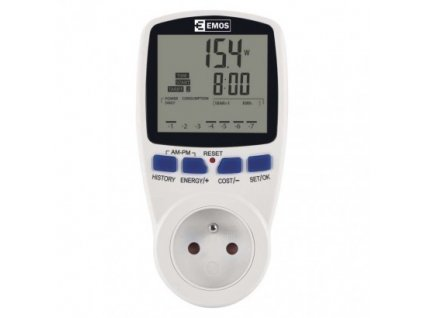 Wattmetr (měřič spotřeby energie) P5801  P5801