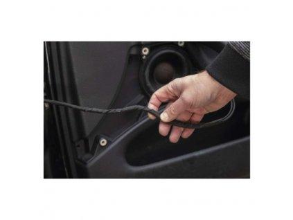 Izolační páska textilní 19mm / 10m černá  F6910