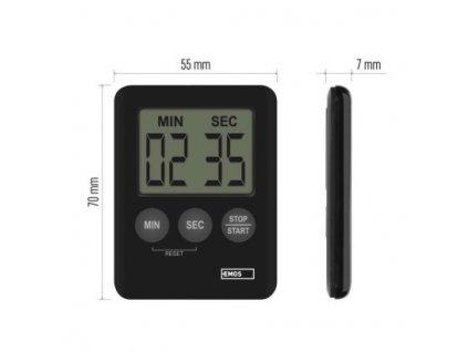 Digitální kuchyňská minutka TP202  E0202