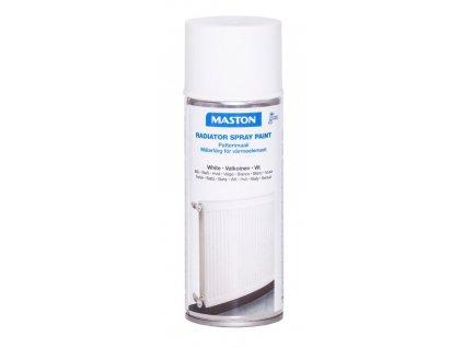 Maston spray RADIATOR WHITE GLOSS bílá lesklá 400ml
