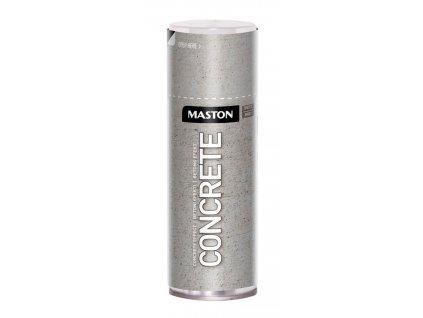 Maston spray CONCRETE EFFECT betonový 400ml