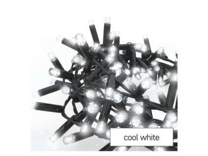 Profi LED spojovací řetěz černý – ježek, 3 m, venkovní i vnitřní, studená bílá  D2BC01