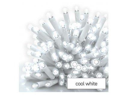 Profi LED spojovací řetěz bílý, 10 m, venkovní i vnitřní, studená bílá  D2AC05