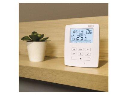 Pokojový termostat s komunikací OpenTherm, bezdrátový, P5611OT  P5611OT