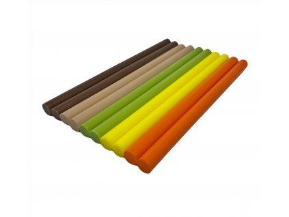 Tavné lepidlo PAK 01 tyčinky barevný mix JARO